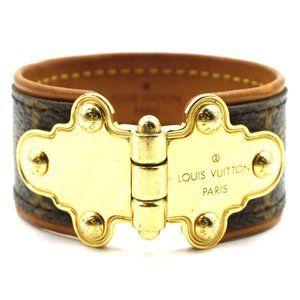 Monogram Rare Save It Cuff Bracelet